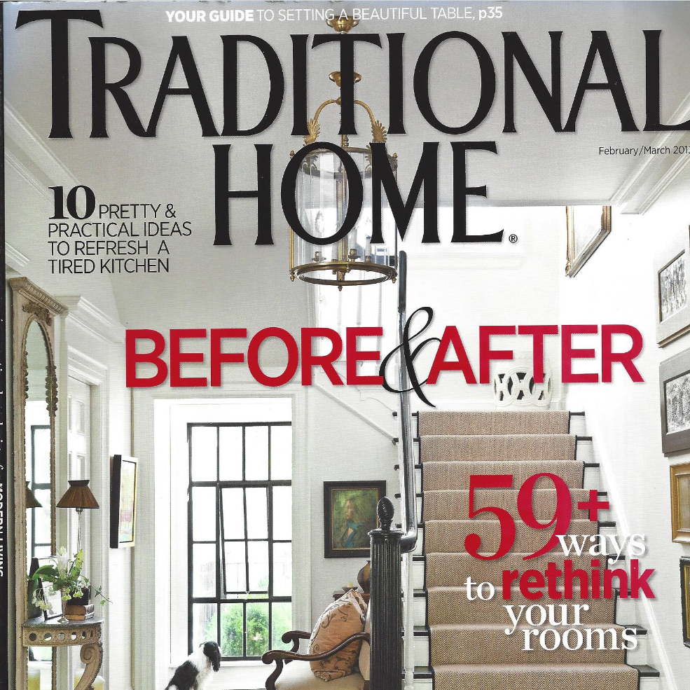 COVER - Traditional Home - February-March 2013